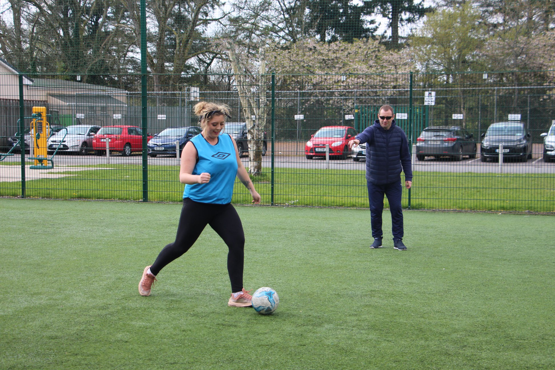 North-Cork-LTI.-Student-rebecca-Murphy-winning-the-crossbar-challenge-in-Macroom
