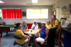 Sr-Cleohpa-sharing-many-a-story-with-the-volunteers-over-a-quick-cup-of-tea