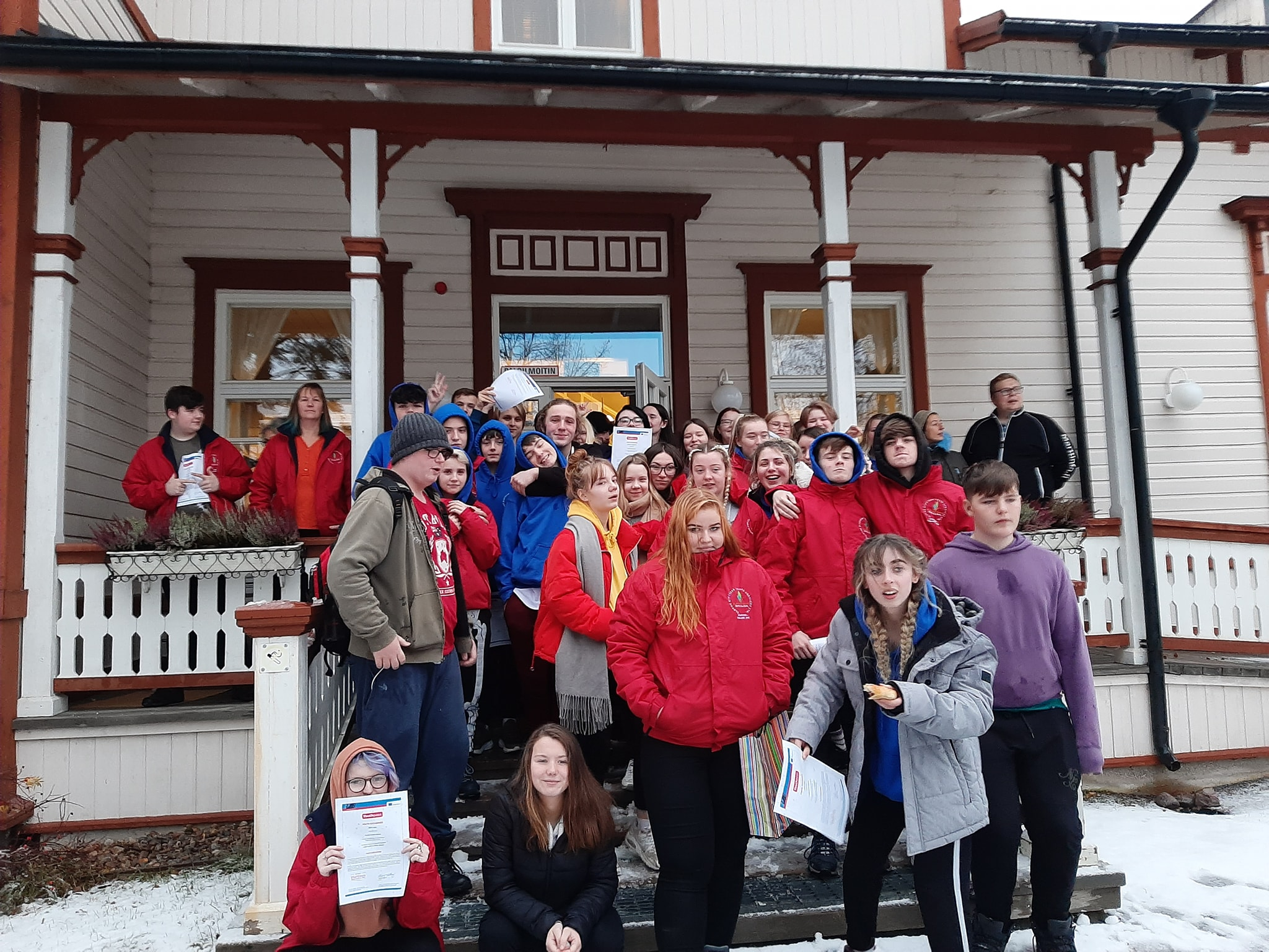 CDYS group in Finland Erasmus+ Program 2019