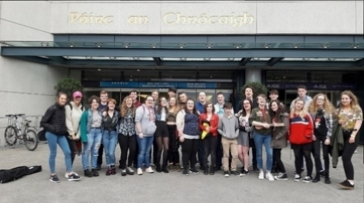 Mallow SPY Irish Youth Music Awards Croke Park 2017