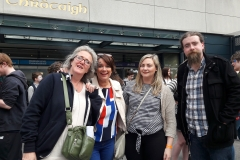 Mallow SPY Staff at the IYMA's Croke Park 2017