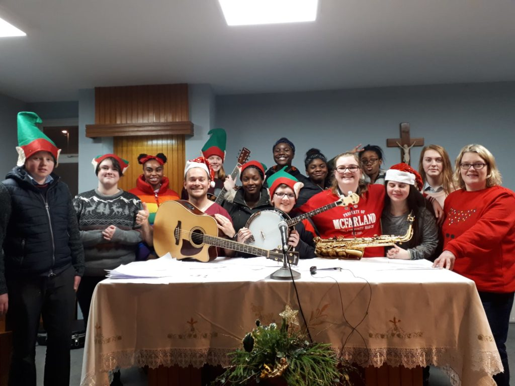 Mallow Youth Ministry Choir at Mallow Hospital