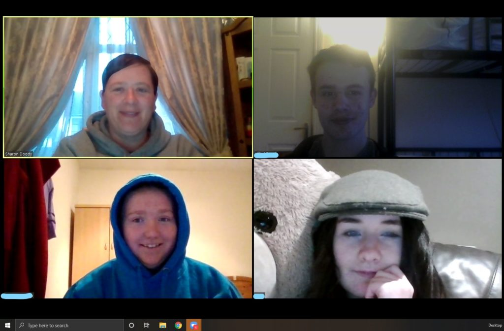 CDYS Youth Workers working Remotely with Young People