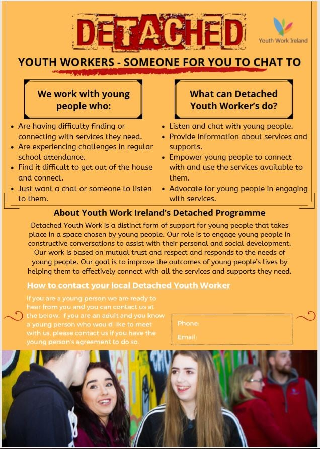 Detached Youth Work Poster