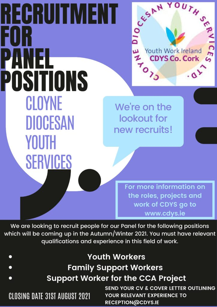 Recruitment for Panel Positions